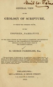 Geology of Scripture by George Fairholme