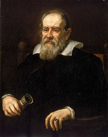 Galileo Galilei. Portrait by Justus Sustermans painted in 1636. National Maritime Museum, Greenwich, London.